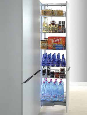 Krome Pull Out Pantry Units