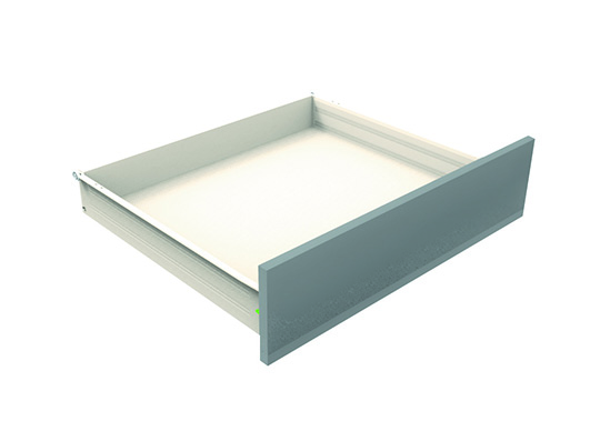 Metal Sided Drawers - Indaux Supra